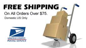 Free Shipping on Orders over $75 - Domestic USA only